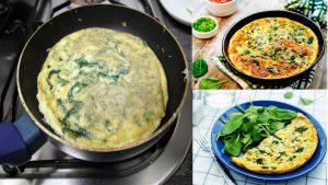 ¿Cómo cocinar y preparar una tortilla de espinacas?La espinaca es uno de los alimentos que mas minerales aporta al cuerpo y del cual nace cientos de recetas